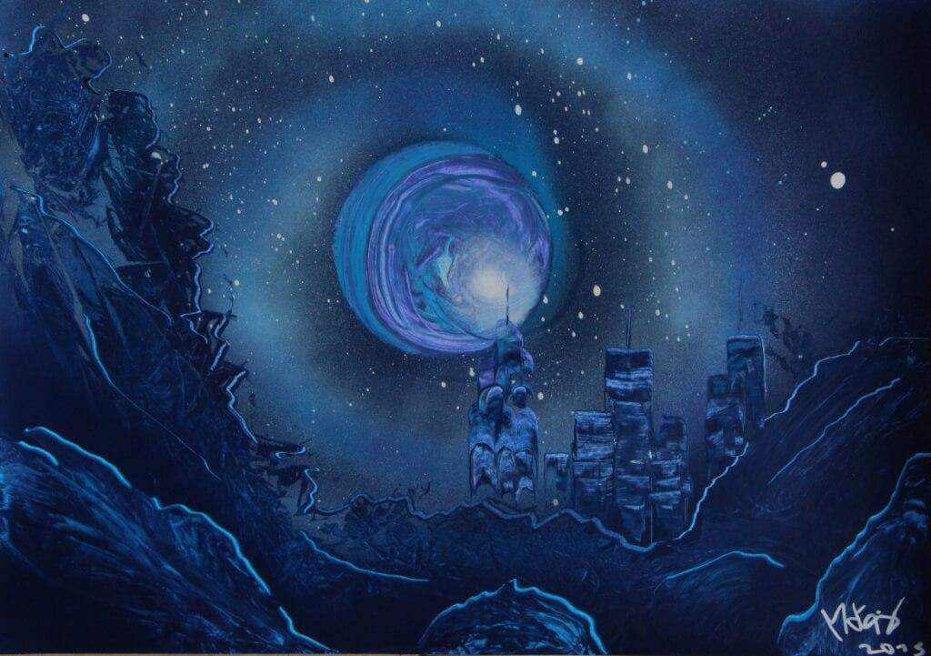 Spirale Bleue