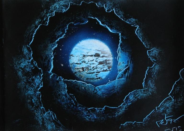 Spirale Rocheuse Bleue