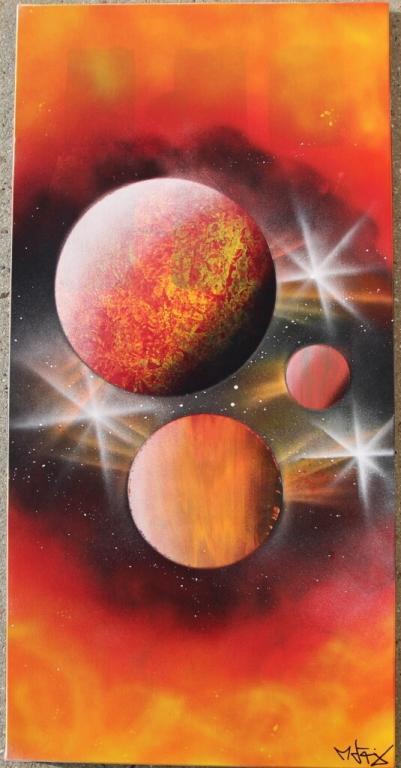 Planètes Enflammées