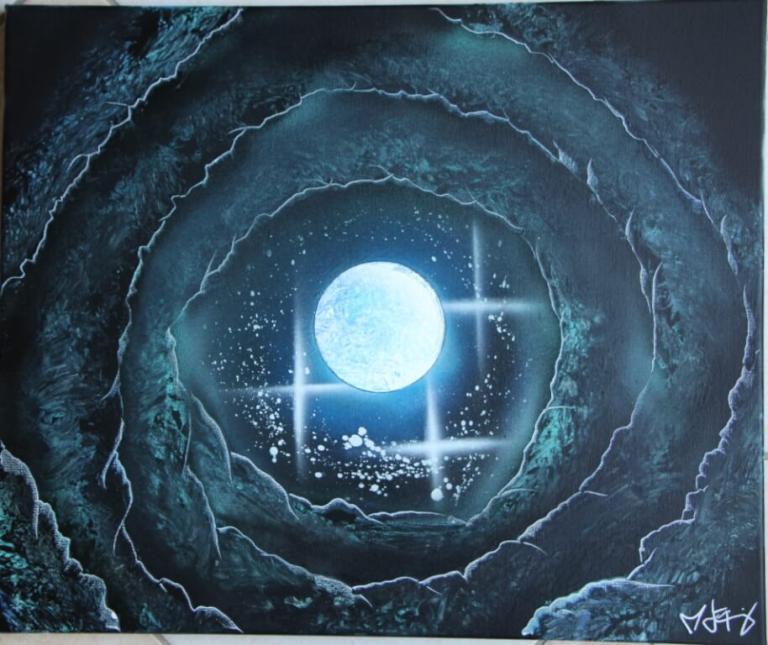 Caverne Bleutée