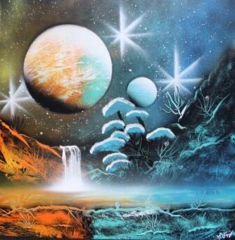 Mes peintures sur toile