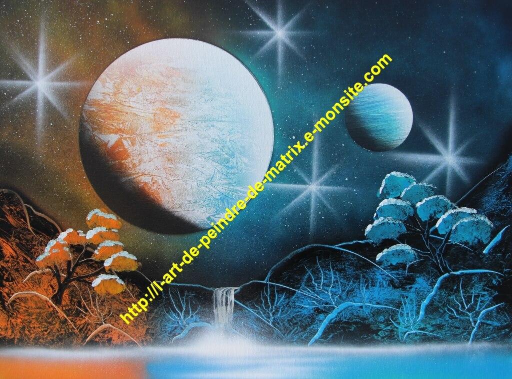 Univers bicolore 3