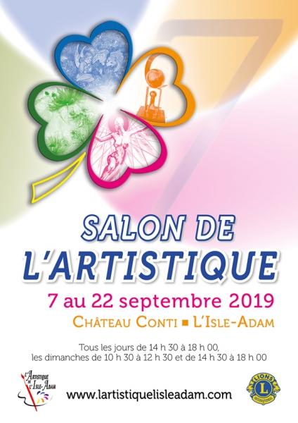 Affiche salon artistique 2019