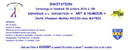 Expo assigny invitation 1