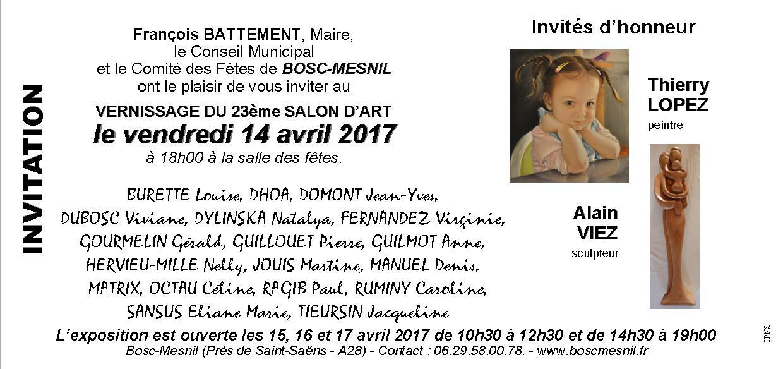 Invitation vernissage 1