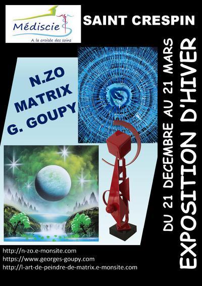 Mediscie salon hiver matrix zo goupy 512090